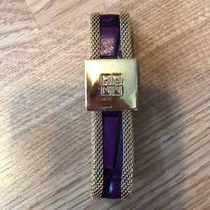 Givenchy magnetic bracelet.